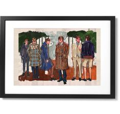 "Framed ""Pour voyage"" Artwork for Gucci Print, X The Republic, Black Wood, Solid Black, Gucci, Museum, Frame, Prints, Artwork, Artist"