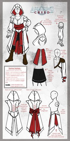 A basic Must Haves for an Assassin Cosplay