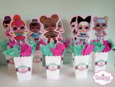 Lol Doll Birthday Party Ideas Surprise Doll Birthday Party Ideas Photo 4 Of 7 Catch My Party Unicorn Birthday Parties, 7th Birthday, Birthday Party Themes, Surprise Birthday, Birthday Ideas, Birthday Party Centerpieces, Doll Party, Lol Dolls, Party Ideas