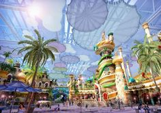 Walk Through Tower Attraction Designed by #IdeAttack at new indoor theme park Eontime World