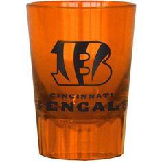 NFL Cincinnati Bengals 4-Pack Plastic Shot, Multicolor