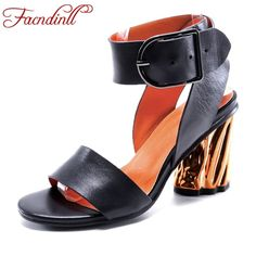 46.17$  Watch here  - new brand women shoes leather sandals strange style high heels elegant ladies party dress dance shoes sexy gladiator sandals