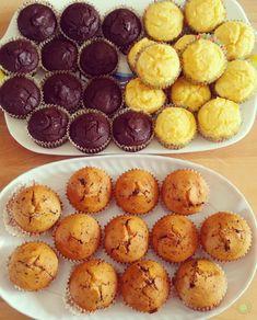 Muffin con farine naturali e cocco