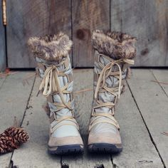 http://www.newtrendclothing.com/category/snow-boots/ Winter Wonderland Snow Boots, Cozy Snow Boots from Spool No.72 | Spool No.72