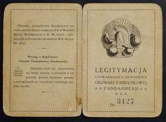 Legitymacja odznaki żandarmerji (1159)