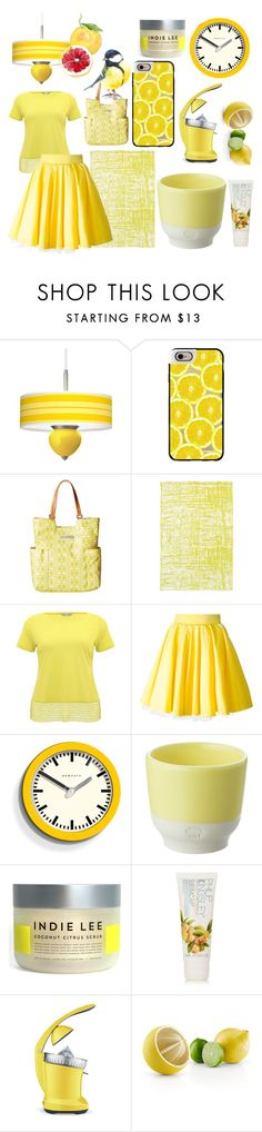 """Citrus"" by marsu-clifford ❤ liked on Polyvore featuring Casetify, Petunia Pickle Bottom, M&Co, Philipp Plein, Newgate, Revol, Indie Lee, Philip Kingsley, Breville and Eva Solo"