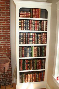 1970-80s 100 Greatest Books <> Easton Press <> Free Ship <> Full Genuine Leather
