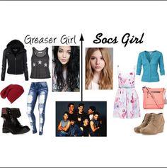 Greasers vs. Socs.