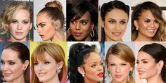 Jennifer Lawrence, Cara Delevingne, Kerry Washington, Olgy Kurylenko, Chrissy Teigen, Angelina Jolie, Bella Thorne, Rihanna, Taylor Swift, & Jenna Dewan-Tatum.