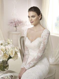 Brautkleid aus der White One Brautmoden Kollektion 2015 :: bridal dress from the 2015 WhiteOne collection