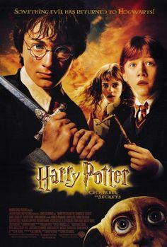 Affiche du film Harry Potter et la chambre des secrets - acheter Affiche du film Harry Potter et la chambre des secrets (6754) - affiches-et-posters.com