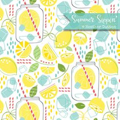 Summer Sippin'   by hangtightstudio