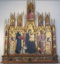 Sano di Pietro - Polittico di Santa Bonda - Siena, Pinacoteca Nazionale