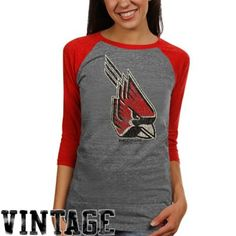 Ball State Cardinals Vintage T