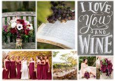 Wine & Vineyards Wine Vineyards, Inspiration Boards, Simple Weddings, Table Decorations, Home Decor, Decoration Home, Room Decor, Dinner Table Decorations, Interior Decorating