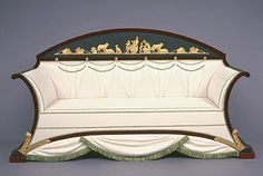 From the Collection–Biedermeier Settee Find Furniture, Sofa Furniture, Antique Furniture, Furniture Design, Antique Couch, Sofas, Couches, Take A Seat, Love Seat