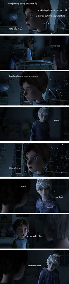 Edward Cullen? Dat not my name!-->HAHAHAHAHAHAHA!!!!XD (and actually, Jack is supposed to be 14.)