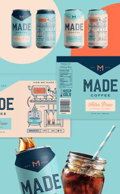 Made Coffee on Behance
