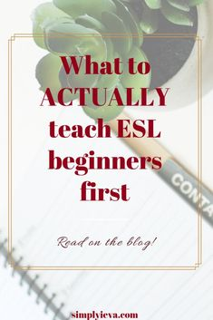 ESL Beginner teaching roadmap: what do you actually teach them first? Survival vocabulary and the world around them - a few important tips for ESL teachers who work with ESL beginners/newcomers. Teaching Strategies, Teaching Tips, Ell Strategies, Teaching Colors, Piano Teaching, Teaching Science, Teaching Art, Teaching Feeling, English Language Learners