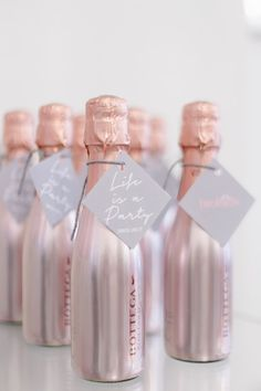 Rose gold wedding favors mini champagne favours pink perfect regarding supplies Wedding Favors And Gifts, Champagne Wedding Favors, Gold Wedding Theme, Wedding Favor Boxes, Rose Wedding, Wedding Colors, Wedding Themes, Wedding Ideas, Wedding Reception