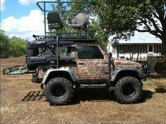 4x4 Hunting Platform