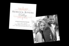 Custom Photography Business Card by Vibrant Imagery