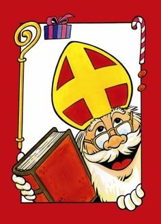 Wenskaart Sinterklaas, Hallmark