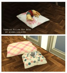 Pillow Pet Beds for The Sims 4