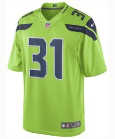 Nike Men's Kam Chancellor Seattle Seahawks Limited Color Rush Jersey - Green XXL