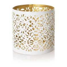 Etched Two Tone Tealight Holder