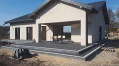 Projekt domu Parterowy 4 122,77 m2 - koszt budowy 207 tys. zł - EXTRADOM