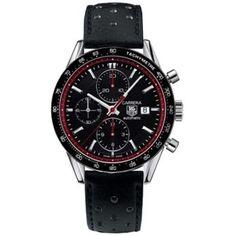 http://www.horloger-paris.com/fr/407-tag-heuer-carrera  Tag Heuer Carrera Chronographe : CV201Z.FC6233