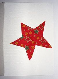 Fabric Shape Card