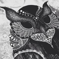 Owl Illustration on Behance Owl Illustration, Birthday Presents, Behance, Birthday Gifts, Birthday Favors