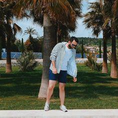 """""""Summer vibes ⚓️ yaz demek deniz mavisi çizgiler demek """""""