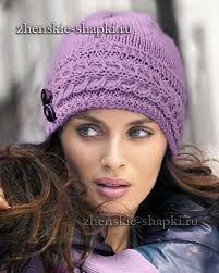 Картинки по запросу связать зимнюю шапку спицами
