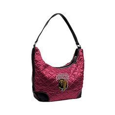 Littlearth University Of Montana Grizzlies Quilted Hobo Purse - U Of M Grizzlies: Littlearth`s popular… #OutdoorGear #Camping #Hiking