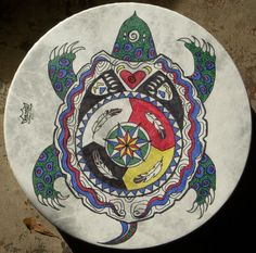 Turtle Drum by Annette Waya Ewing - http://www.blueskywaters.com/rsshop.html