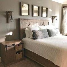 DIY Rustic Bedroom set. Plans soon!