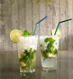 Cookbook Recipes, Cooking Recipes, Mojito, Shot Glass, Smoothies, Homemade, Drinks, Tableware, Sweet