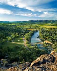 Amazing Altitudes - Texas Highways Verdant view of the Frio River, Garner State Park. Texas Roadtrip, Texas Travel, Oh The Places You'll Go, Places To Visit, Garner State Park, Utah, Rio, Arizona, Texas Hill Country