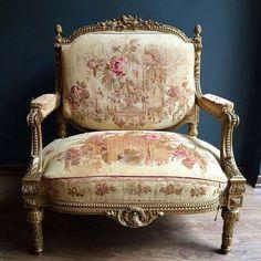 French Furniture, Classic Furniture, Luxury Furniture, Antique Furniture, Sofa Chair, Armchair, Victorian Interiors, Louis Xvi, Furniture Inspiration