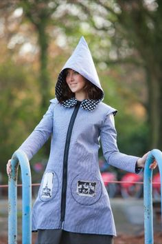Trench Padam imperméable ZAWANN créateur de mode made in france personnalisable : Manteau, Blouson, veste par zawann