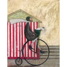 Sam Toft - A Penny for your Thoughts - Limited Edition Print