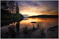 sunset-at-saimaa_Landscape Photography by Päivi Valkonen