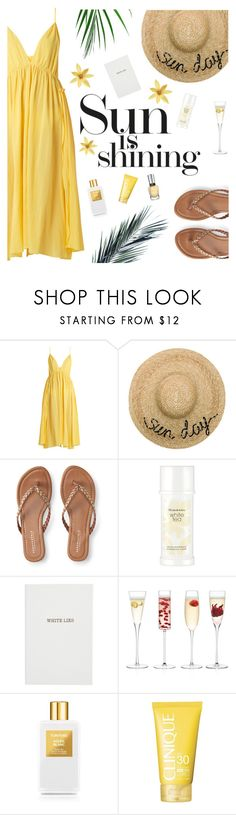 """Sun is shining"" by buflie ❤ liked on Polyvore featuring Loup Charmant, Eugenia Kim, Aéropostale, Elizabeth Arden, Sloane Stationery, LSA International, Tom Ford and Clinique"