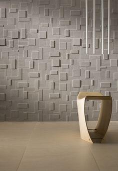 Revestimiento de pared/suelo de gres porcelánico efecto piedra E.MOTIONS by Ceramiche Caesar