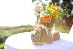 Boda Bella: Inspiración para boda en naranja {Styled Shoot}
