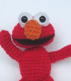 Crochet Pattern Amigurumi Elmo Inspired  PDF by SimplyCollectible, $4.99