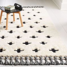Shag Plus Sign Rug Crate And Barrel , shag plus sign rug kiste und fass , , geometric rugs Modern - geometric rugs Gray - geometric rugs Gold Nursery Rugs, Room Rugs, Area Rugs, White Rug, Black And White Colour, Unique Furniture, Custom Furniture, Crate And Barrel, Girls Rugs